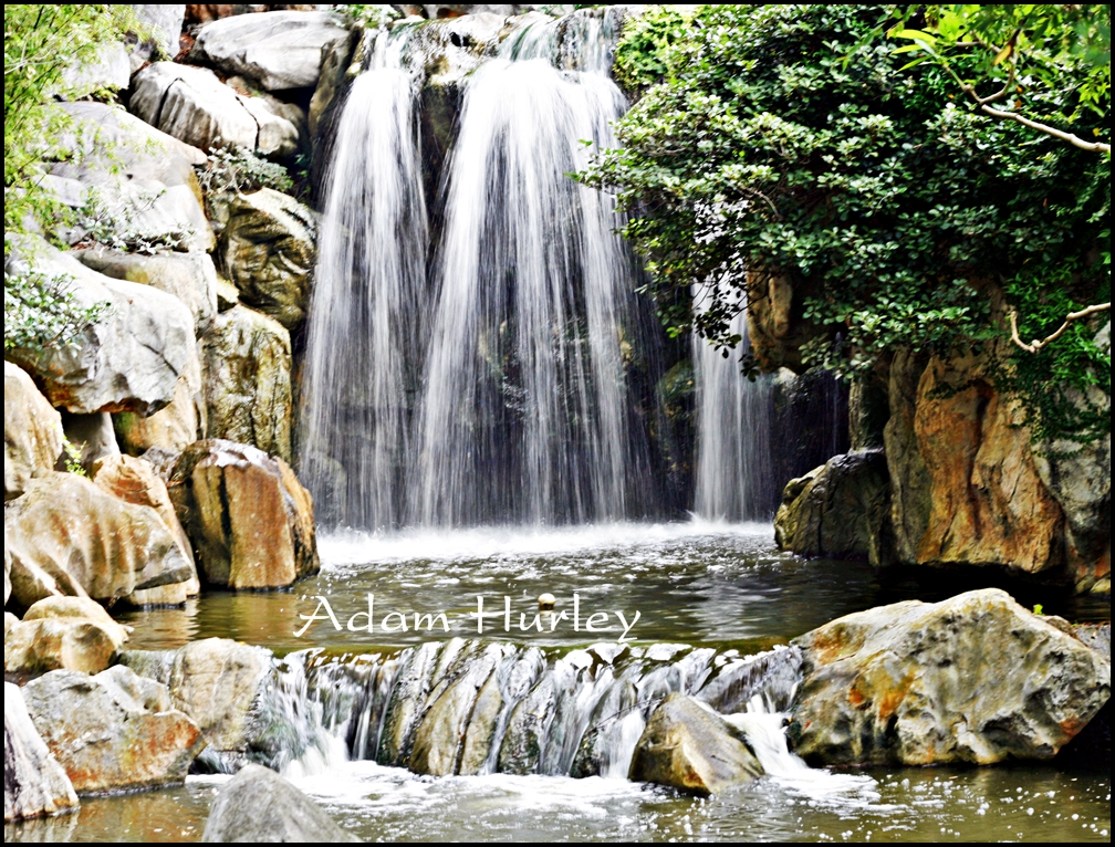 Waterfall - Chinese Gardens - Sydney