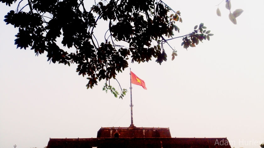 Flag Tower @ South gate of Hue Citadel.