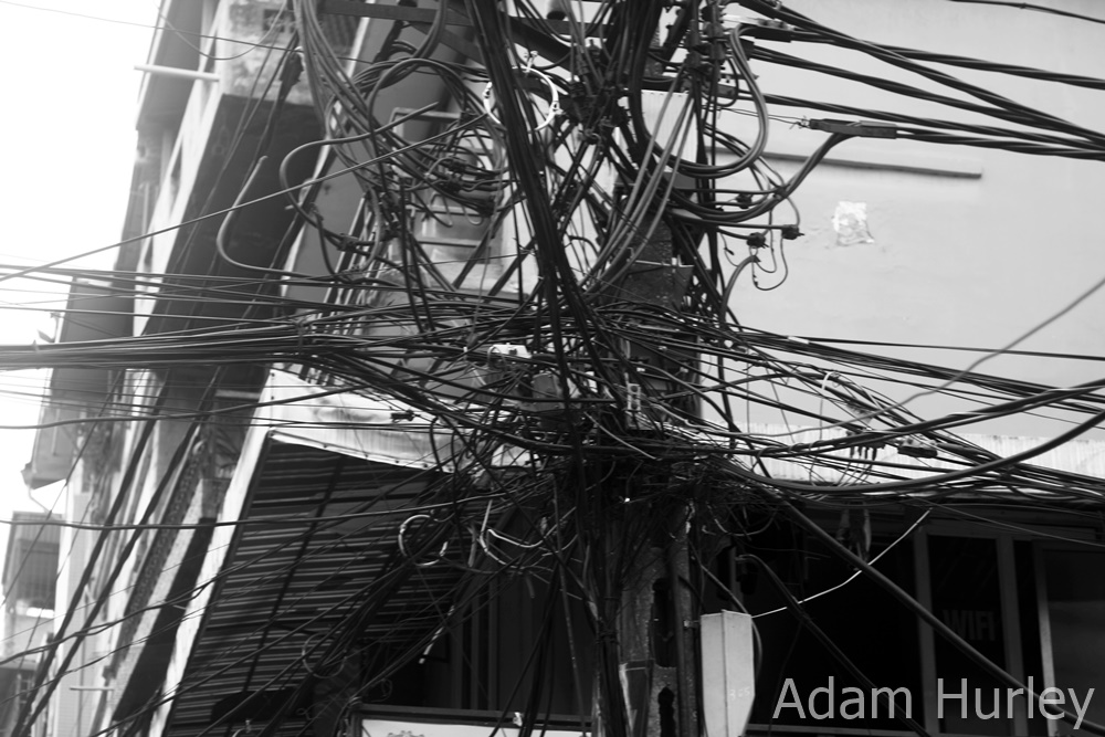 Wired in Hanoi -  I'm sure to an expert it all makes sense..............!